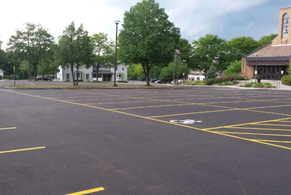 parking lot paving Fairport