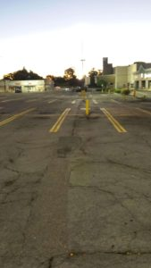 commercial parking lot paving needed
