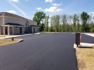 parking lot paving Brockport NY